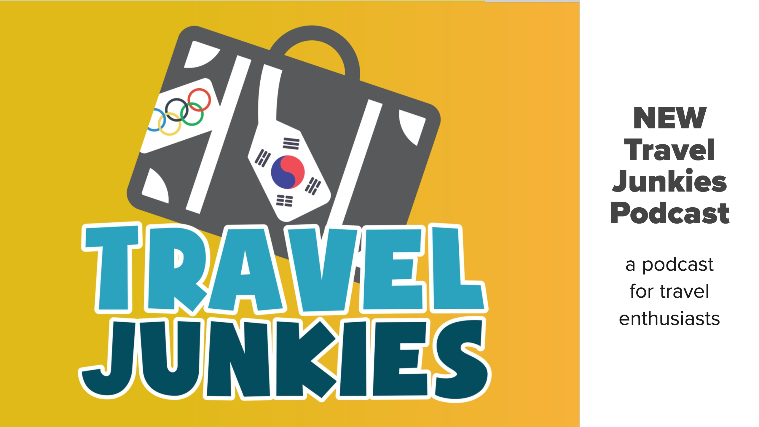 Travel Junkies Podcast Slide